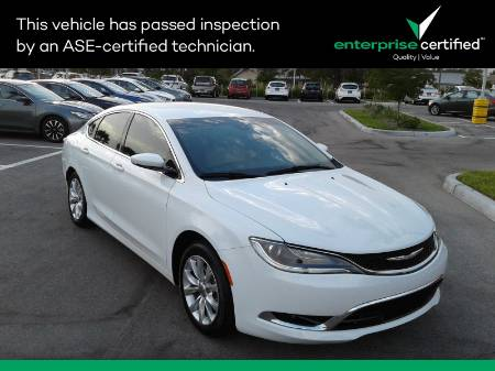 2015 Chrysler 200 4DR Sedan C FWD