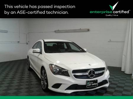 2015 Mercedes-Benz  4dr Coupe CLA 250 FWD