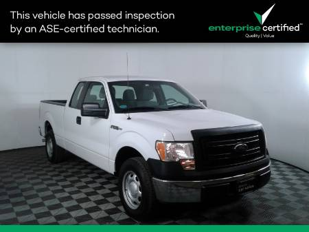 2013 Ford F-150 XLT 2WD SuperCab 145""