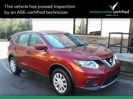 2016 Nissan Rogue S FWD 4DR